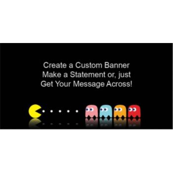 Video Game Custom Banner
