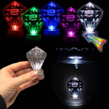 Multi Color LED Diamond Tea Light