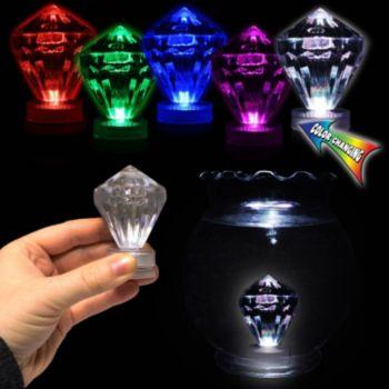 Multi Color LED Diamond Tea Light