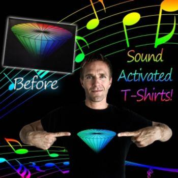 Flashing Diamond LED T-Shirt