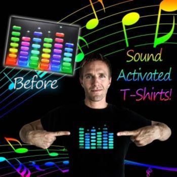Sound Gradient Stacks T-Shirt