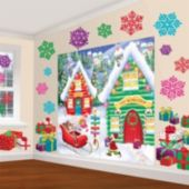 North Pole Wall Decorating Kit