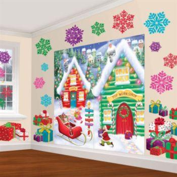 North Pole Scene Setter Decorating Kit