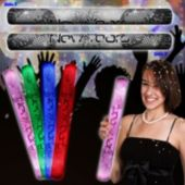"""Happy New Year Lumiton 16"""" Baton"""