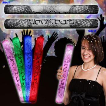 Happy New Year Lumiton Baton - 16 Inch