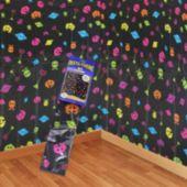 80's Retro Arcade Scene Setter