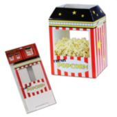 Popcorn Box Centerpiece-15 1/4""