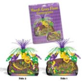 Mardi Gras Float Centerpiece-12 3/4""