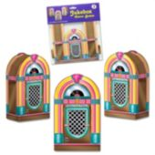 Jukebox Favor Boxes-3 Per Unit