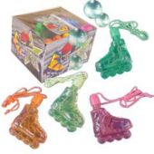"In-Line Skate 2 1/2"" Bubble Necklaces"