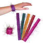 Glitter Slap Bracelets-12 Pack
