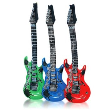 Inflatable Guitars - 40 Inch, 12 Pack
