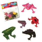 Mini Plastic Frogs - 12 Pack
