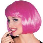 Hot Pink Super Model Wig