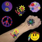 "Retro 1 1/2"" Tattoos - 144 Pack"