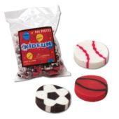 Sports Erasers - 144 Pack
