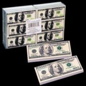 $100 Bill Erasers-36 Pack