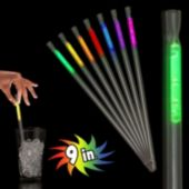 "Assorted Color Glow Straws-9""- 25 Pack"