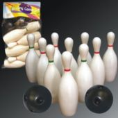 "Bowling Set 6"" Pins & Ball"