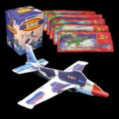 Jet Fighter Gliders-48 Pack