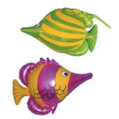 """Blow Up Inflatable 16"""" Tropical Fish - 12 Pack"""