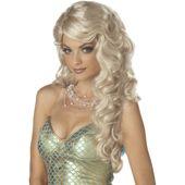 Mermaid (Blonde) Adult Wig