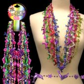 "Dolphin Bead Necklaces-38""-12 Pack"