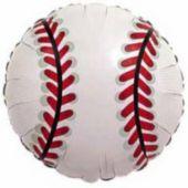 """Baseball Metallic 18"""" Balloon"""