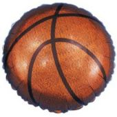 "Basketball Metallic 18"" Balloon"