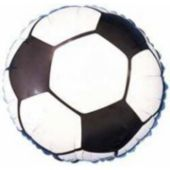 "Soccer Ball Metallic 18"" Balloon"