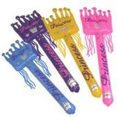 """Inflatable Medieval 36"""" Princess Wand - 12 Pack"""