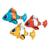 """Tropical Fish 24"""" Inflatable - 12 Pack"""