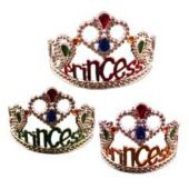 Princess Tiaras-12 Pack