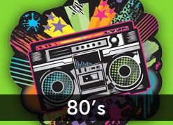 '80s Theme Party Supplies & Decorations