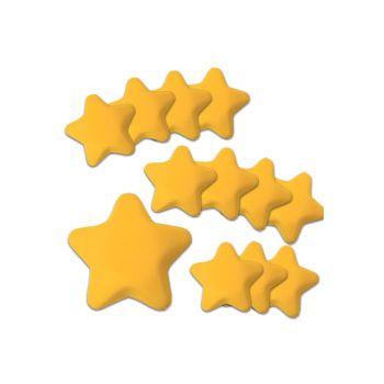 "STAR SHAPE   3"" STRESS BALLS"