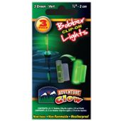 Green Glow Fishing Bobber Lights - 3 Per Unit