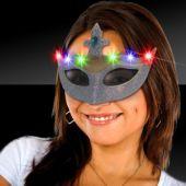 LED Silver Mask