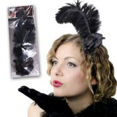 Feather & Flower Fascinator