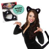 Black Cat Costume Set
