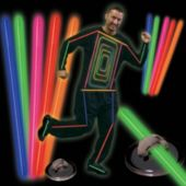 Multi Color Glow Lite Costume Kit