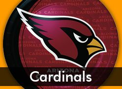 Arizona Cardinals Party Supplies
