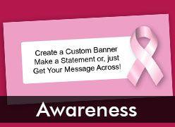 Awareness Custom Banners