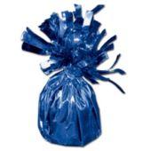 """Blue Foil Balloon 2 1/2"""" Weight"""