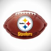"Pittsburgh Steelers Football Metallic 18"" Balloon"