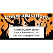 Orange Graduation Custom Banner