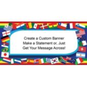 International Flags Custom Banner
