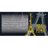 Paris Custom Banner