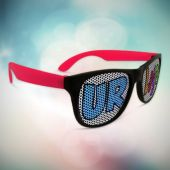 Red Party Novelty Sunglasses-12 Pack