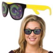 Mardi Gras Mask Party Sunglasses