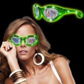 Green LED Party Sunglasses